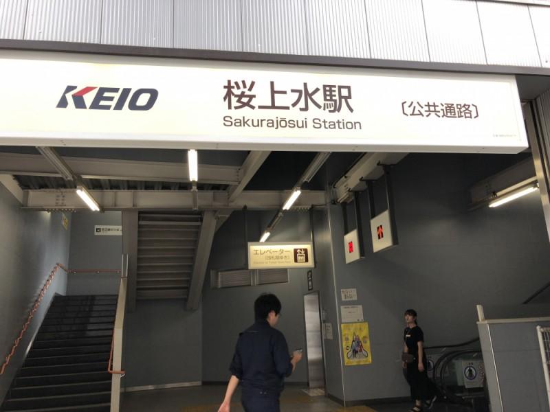 桜上水駅にゴール